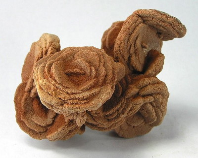 Figure 5.7: A barite rose from Cleveland County, Oklahoma.