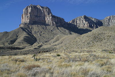 Figure 9.6: El Capitan in western Texas, Guadalupe National Park.