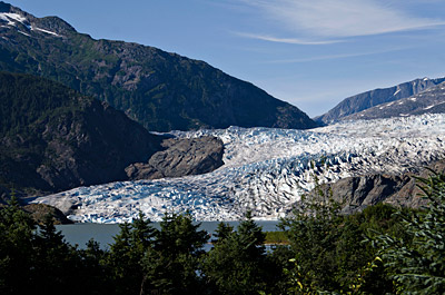 Figure 6.13: Mendenhall Glacier, flowing from the Juneau Ice Field.