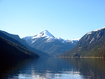 Figure 6.8: Misty Fjords National Monument in the Tongass National Forest, Alaska.