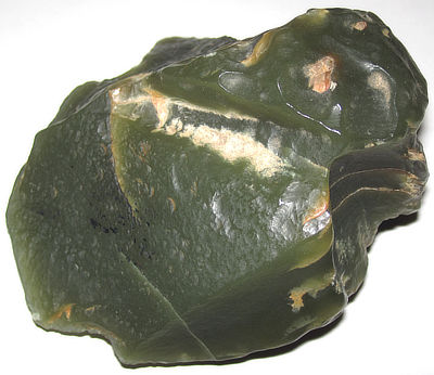 Figure 5.18: Nephrite jade from Crooks Mountain, central Wyoming.