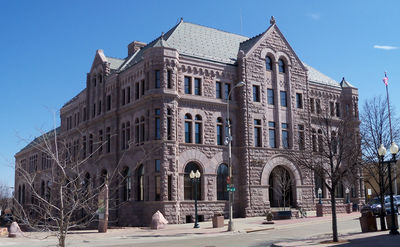 Figure 2.3: Sioux Quartzite was used to construct the Federal Building in Sioux Falls, South Dakota.