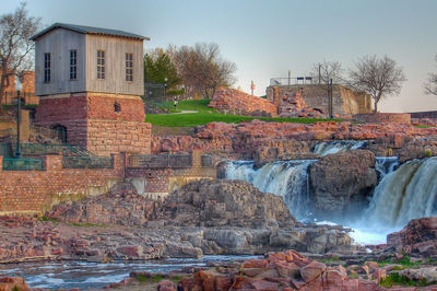 Figure 2.2: Sioux Falls Park, Sioux Falls, South Dakota.