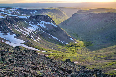 Figure 6.7: A glacial valley on Steens Mountain, Oregon.