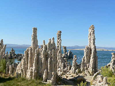 Figure 2.6: Tufa towers at Mono Lake, California.